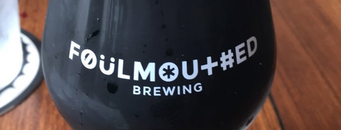 Foulmouthed Brewing is one of Portland, Maine.