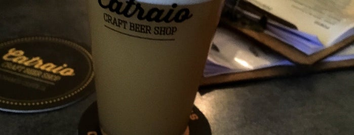 Catraio - Craft Beer Shop is one of Portugal.