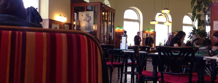 Cafe Schopenhauer is one of Vienna - unlimited.