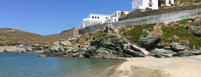 Kolympithra Beach is one of Tinos.
