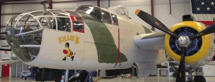 Valiant Air Command Warbird Museum is one of Discover Florida's Space Coast.