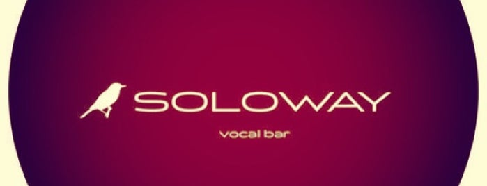 SOLOWAY vocal bar is one of Клубы за ночь.
