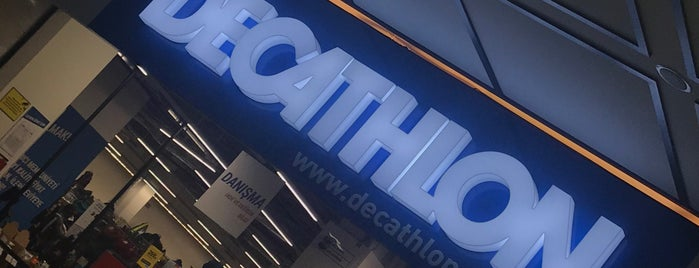 Decathlon is one of Istanbul.