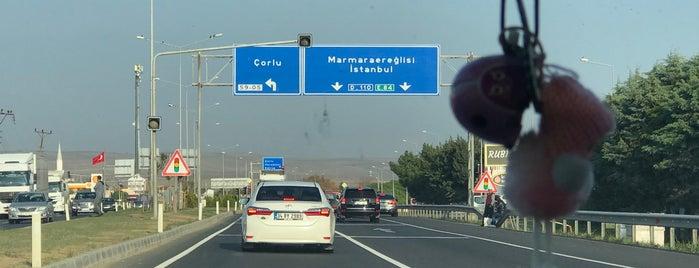 Tekirdağ - İstanbul Yolu is one of H 님이 좋아한 장소.