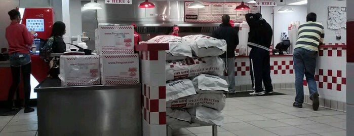 Five Guys is one of PA State College.