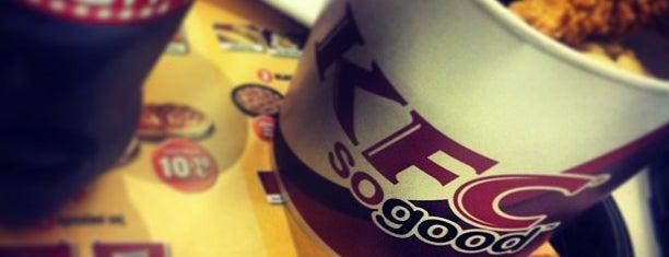 KFC is one of สถานที่ที่ Burcu ถูกใจ.