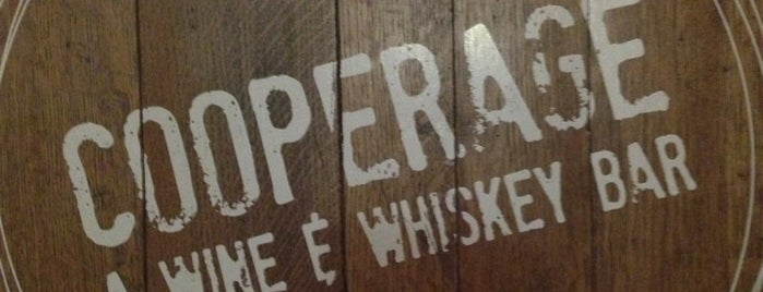 Cooperage Wine & Whiskey Bar is one of Center City Sips 2015.