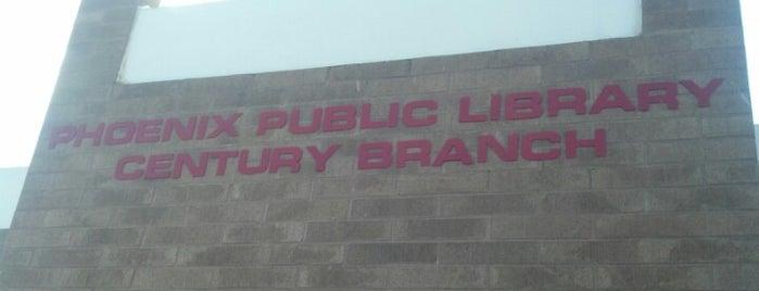 Phoenix Public Library - Century Branch is one of Jeffrey : понравившиеся места.