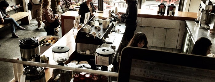 Coffee Bar is one of 25 Top Coffee Shops in SF.