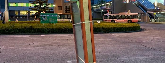 若葉台駅北口バスロータリー is one of 若葉台駅 | おきゃくやマップ.