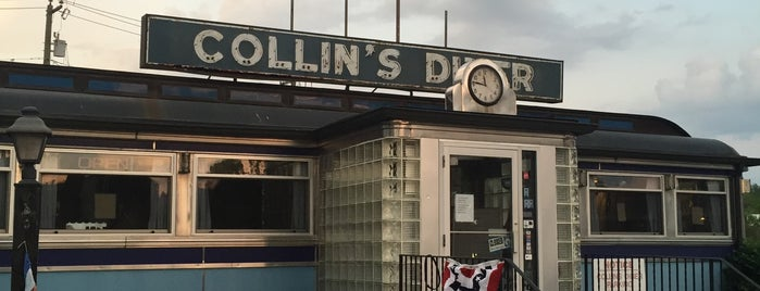 Collins Diner is one of Because Foursquare F*cked Up Their List Feature 2.