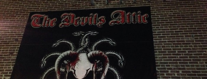 The Devils Attic is one of Visited Haunts.