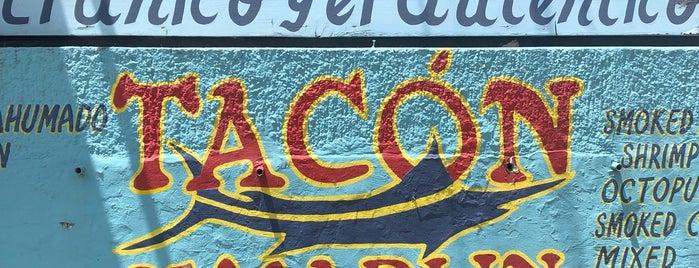 Tacón de Marlín is one of Belinda'nın Kaydettiği Mekanlar.