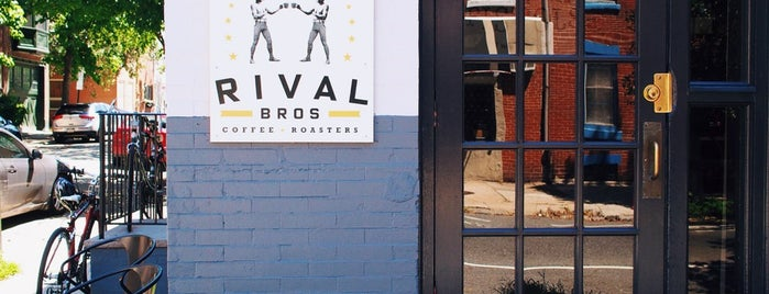Rival Bros Coffee is one of Philly.