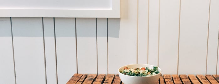 sweetgreen is one of vegan.