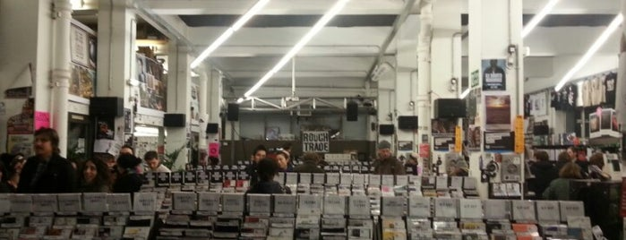 Rough Trade East is one of London for free (or cheap).