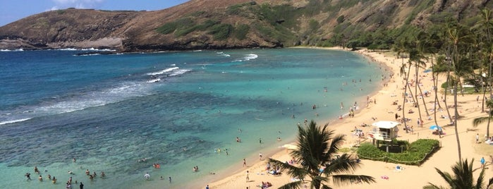 Hanauma Beach is one of Oahu.