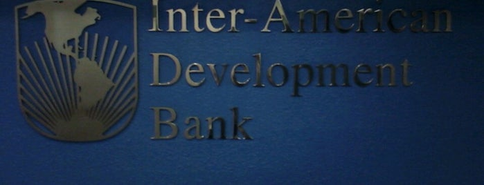 Inter American Development Bank (IDB) is one of Lieux sauvegardés par Stone.
