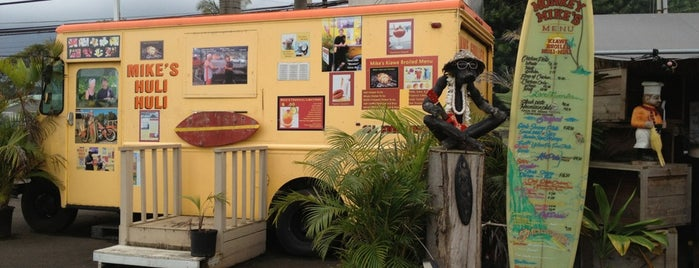 Mike's Shrimp Truck is one of Hawaii.