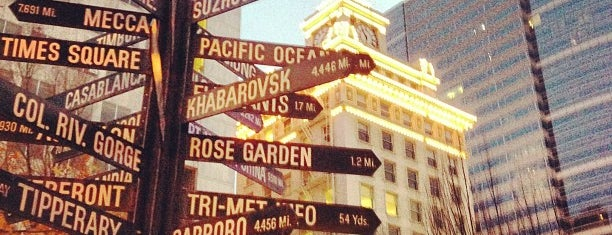 Pioneer Courthouse Square is one of Seattle; Vancouver & Whistler.