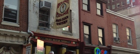 Eulogy Belgian Tavern is one of Draft Magazine Best Beer Bars.