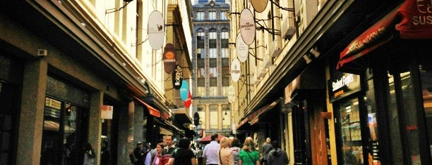 Degraves Street is one of Melbourne Must Do Food and Drink Places.