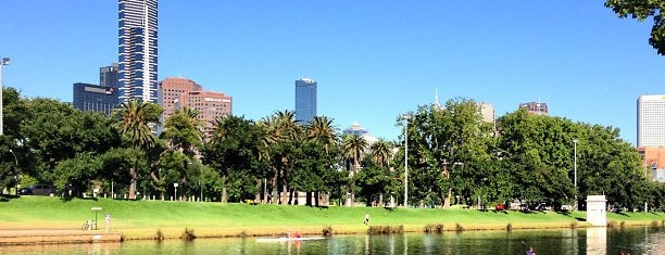 Birrarung Marr is one of Melbourne.