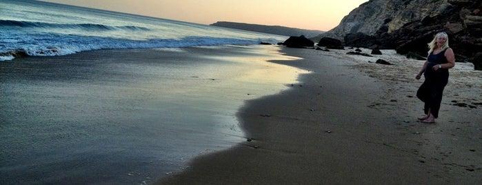 Praia da Salema is one of Purtugal.