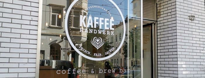 Kaffeehandwerk Flingern is one of Düsseldorf beloved.