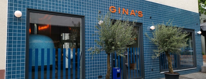 Gina's Pizza Bar is one of Karlsruhe beloved.