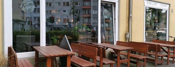 Roasted Kaffeebar is one of Düsseldorf beloved.