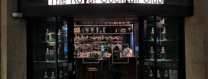 The Royal Cocktail Club is one of P O R T O.