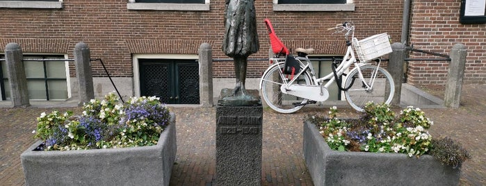Beeld Anne Frank is one of AMSTERDAM.