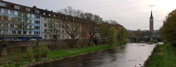 Werderbrücke is one of Die ultimative Brückenliste Pforzheims.