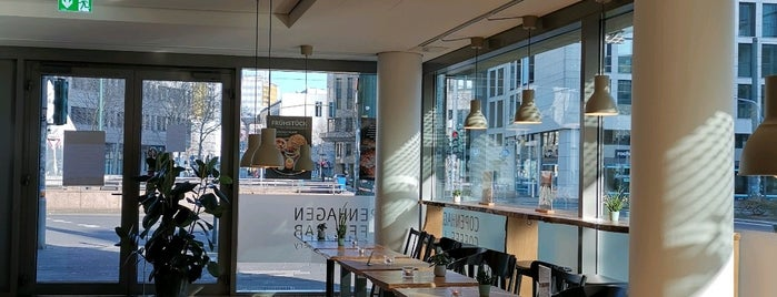 Copenhagen Coffee Lab is one of Düsseldorf beloved.