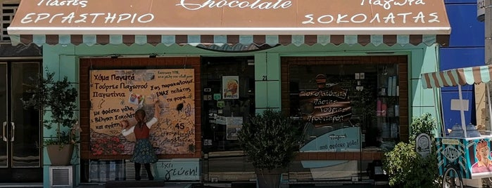 Amazing Chocolate is one of Athens beloved.