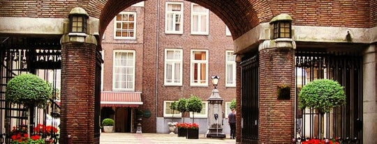 Sofitel Legend The Grand Amsterdam is one of Leslieさんのお気に入りスポット.
