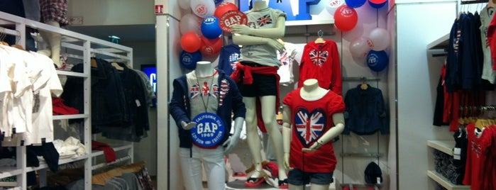 GAP is one of Sports & Fashion, I.