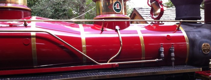 Walt Disney World Railroad - Fantasyland Station is one of Walt Disney World.