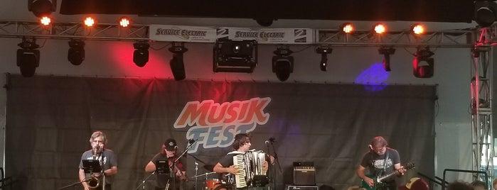 Wells Fargo Festplatz is one of Musikfest 2018.