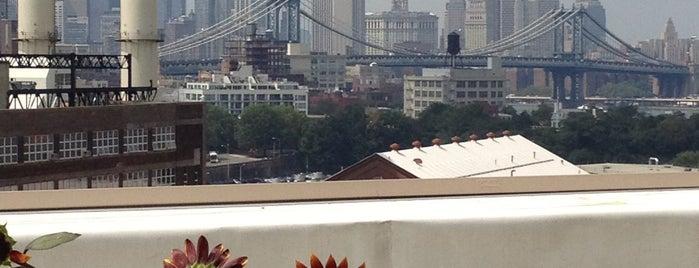 Brooklyn Navy Yard is one of A Tale of Three Bridges.