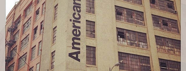 American Apparel is one of Stateside 2015.