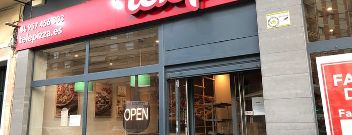 Telepizza is one of where to eat in cordoba spain.