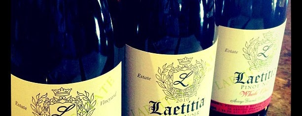 Laetitia Vineyard & Winery is one of Locais curtidos por Christopher.