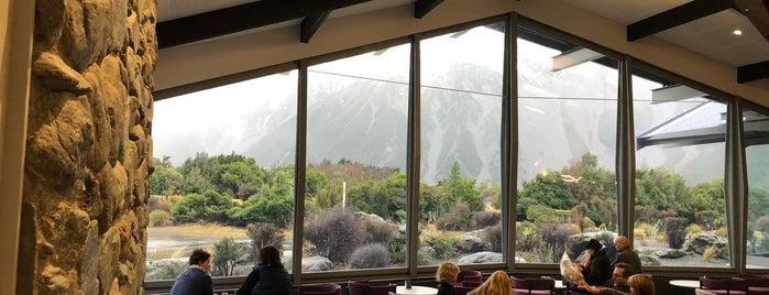 The Sir Edmund Hillary Alpine Centre is one of Tempat yang Disimpan Matt.