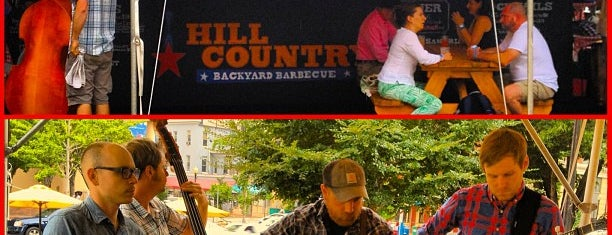 Hill Country Backyard Barbecue is one of Locais curtidos por Erin.