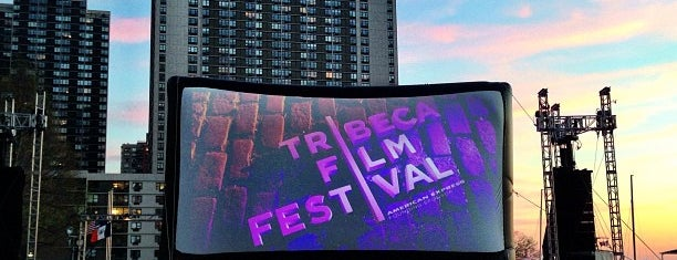 Tribeca Film Festival Drive-in is one of Nancy's Wonderful Places/Games/	Clothes ect....