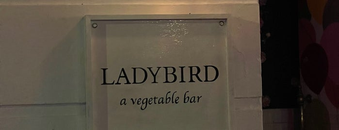 Ladybird is one of Fav NY Food.