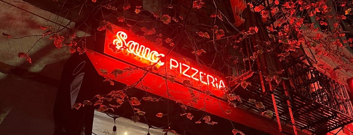 Sauce Pizzeria is one of Pizza to try.