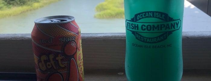 Ocean Isle Fish Company Restaurant is one of ocean isle.